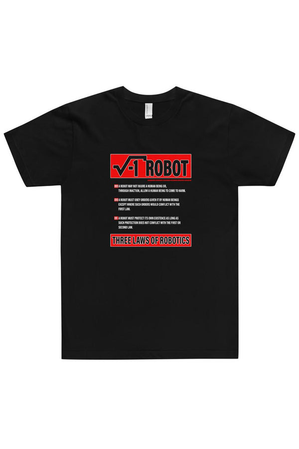 3 Laws of Robotics T-Shirt