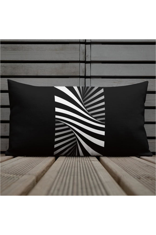 Abstract Notion Premium Pillow