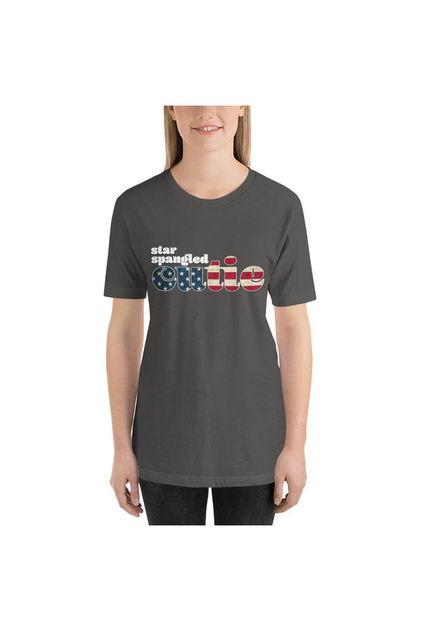 Star Spangled Cutie Short-Sleeve Unisex T-Shirt