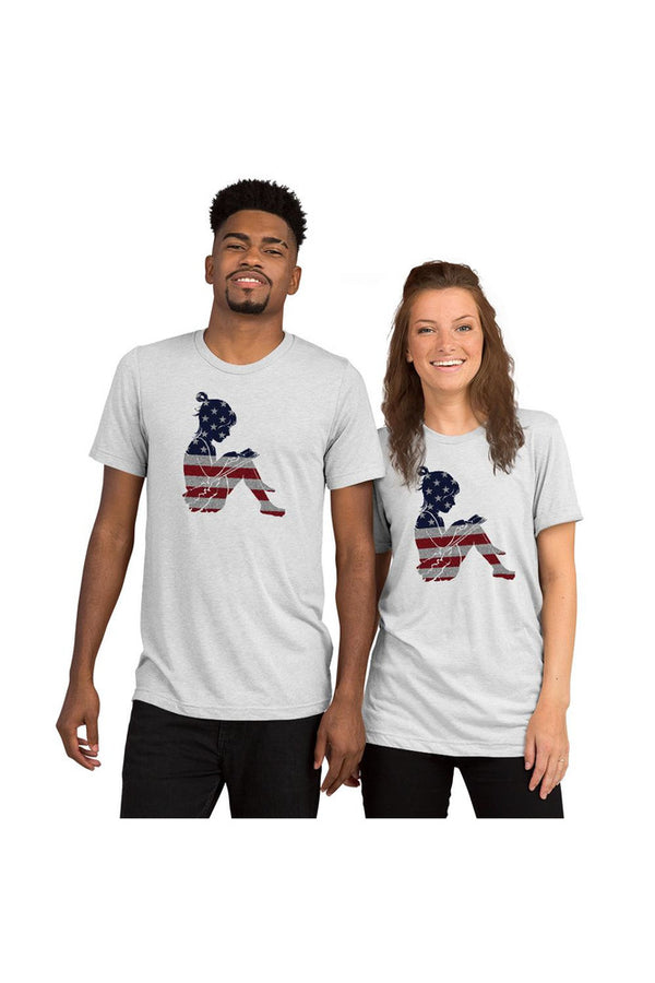 American Reader Short sleeve t-shirt