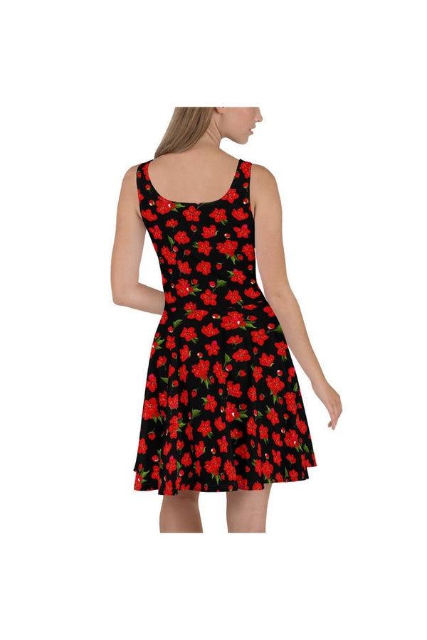 Cherry Blossoms Skater Dress