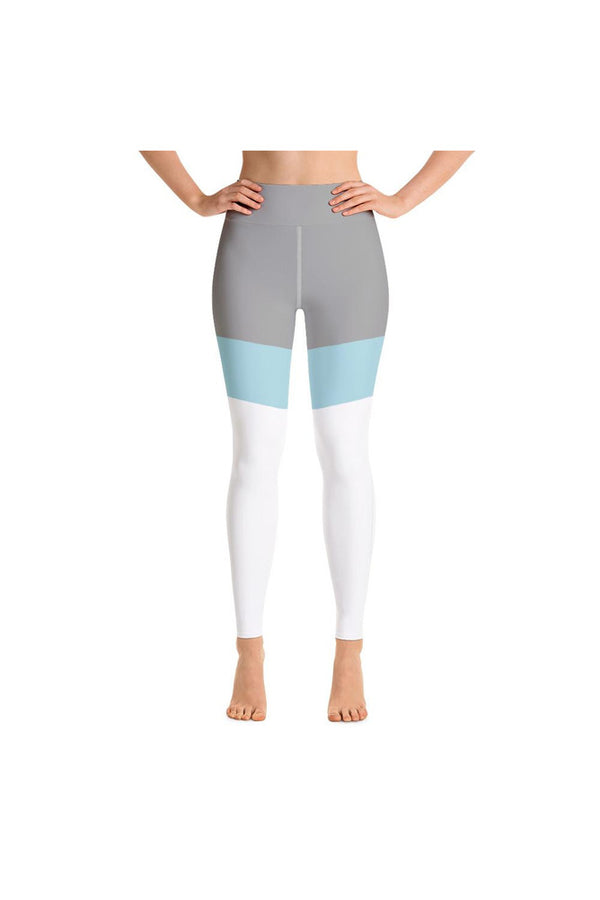 Clearwater Blue Accented Yoga Leggings