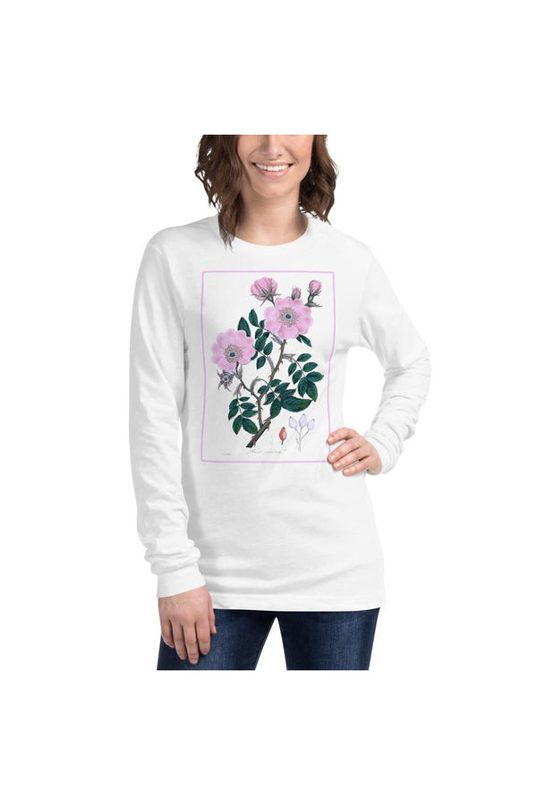 Dog rose (Rosa caninal)  Unisex Long Sleeve Tee