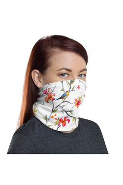 Beauty of Finches Neck gaiter