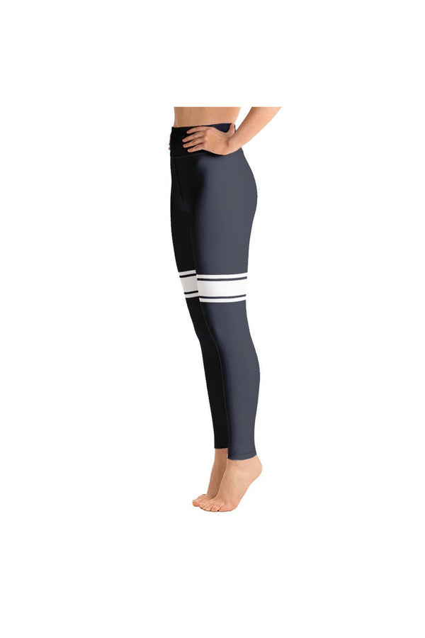 Eclipse Blue Sporty Yoga Leggings