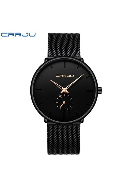 Luxury  Dress Watches Unisex Ultra Thin Wristwatch