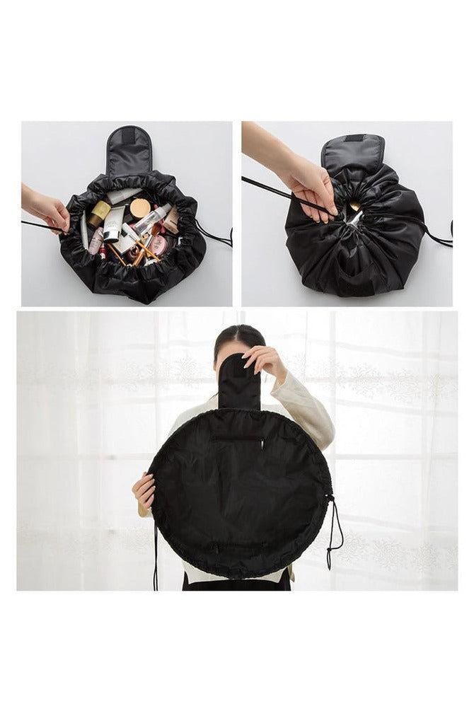 Portable Beauty Drawstring Travel Makeup Bag Organizer Storage Jewelry Cosmetic