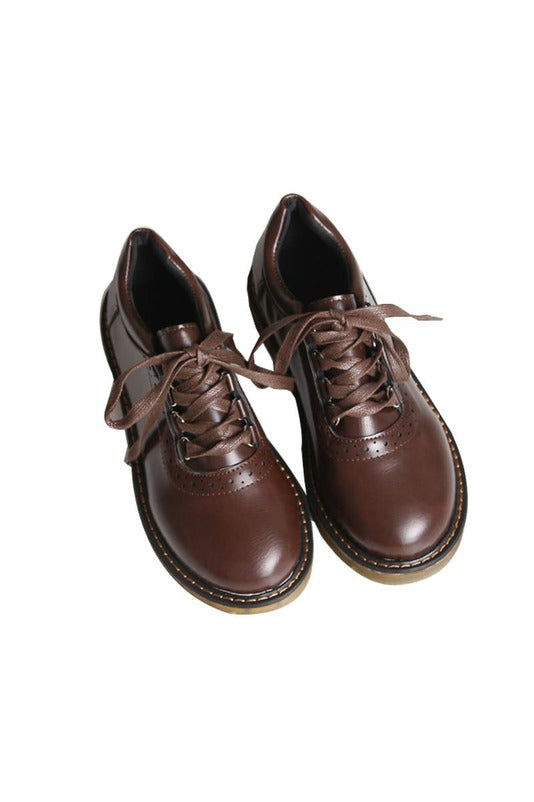 Vintage Oxford Shoes For Women