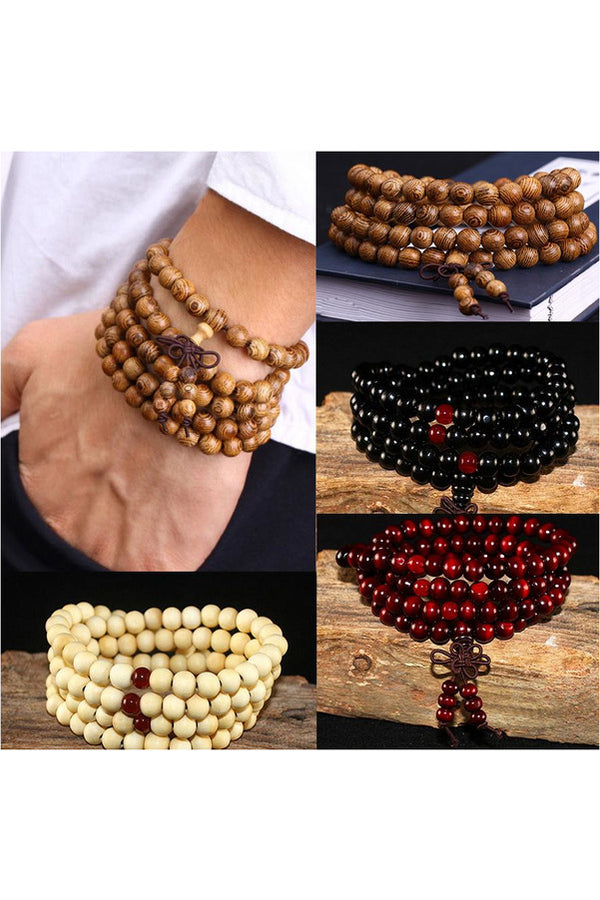 Natural Sandalwood Unisex Men Bracelets & Bangles for Women