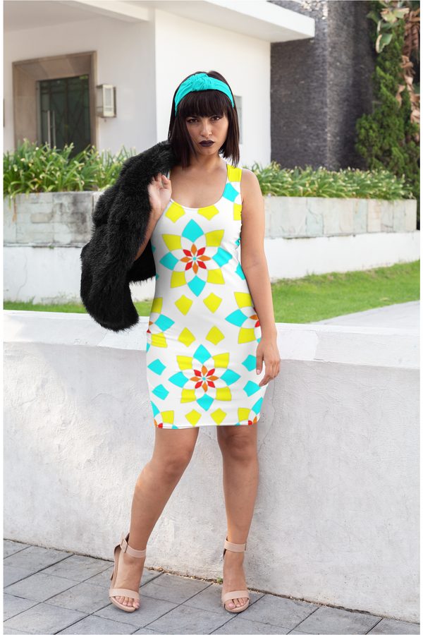 Blooming Mandala Sublimation Cut & Sew Dress