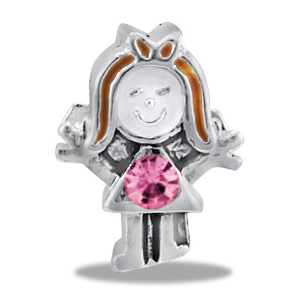 Girl Shape Bead by Davinci