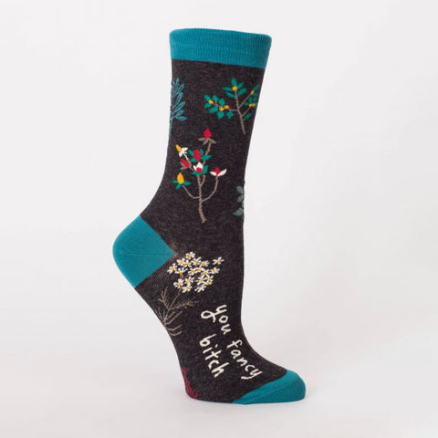 """You Fancy Bitch"" Women's Crew Sock"