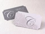 "Full Color 16pt 3.5x2"" Ticket Shape Business Cards"