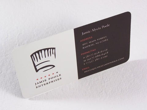 "Full Color 9pt 3.5x2"" Rounded Synthetic Business Cards"