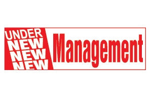 Under New Management 3x10 Foot Banner