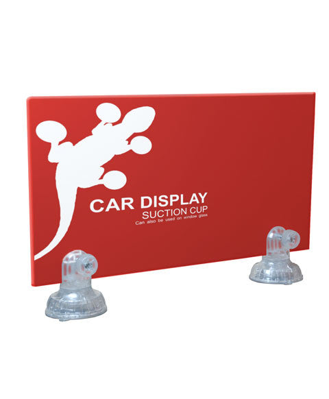 Gecko Car Display Suction Cup Sign Holder 405media