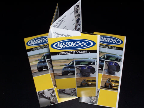 "Full Color 8.5x14"" Folded Brochures"