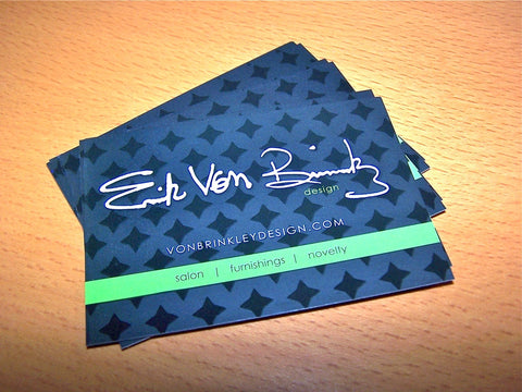 "Full Color 15pt 3.5x2.5"" Silk or Silk w/Spot UV Laminated Business Cards"
