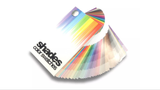 Shades Color Swatches Coated and Uncoated CMYK Process System Guide
