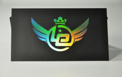 "Full Color 32pt Thick 3.5x2"" Silk Premium Business Cards with Foil"