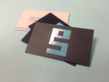 "Full Color 32pt Thick 3.5x2"" Edge Painted Silk w/Spot UV Premium Business Cards"