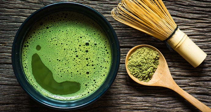 Royal Recipes: Marine Matcha Latte