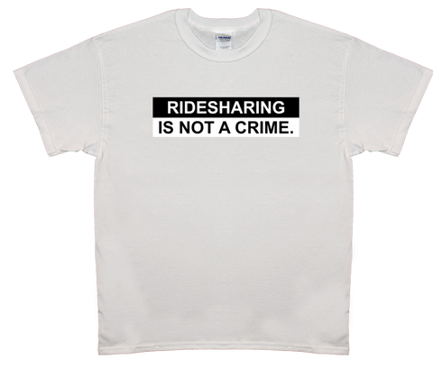 Ridesharing Is Not A Crime