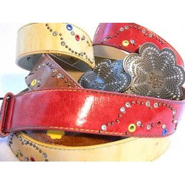Chupa Chups Leather-look studded belts