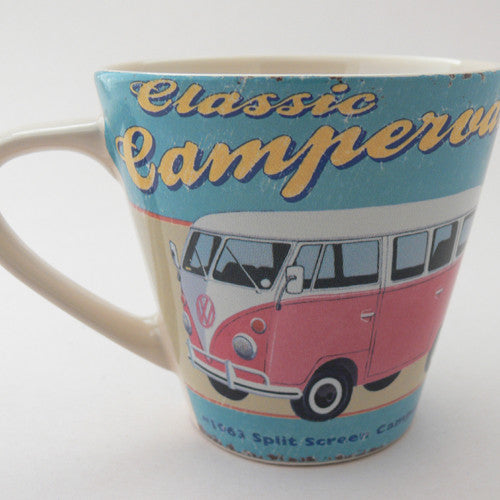 Martin Wiscombe VW Camper Van Conical Mug for ECP
