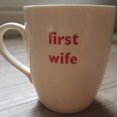Big Tomato Company - First Wife Mug