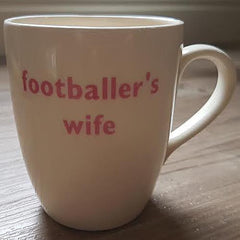 Big Tomato Company - Footballer's Wife Mug