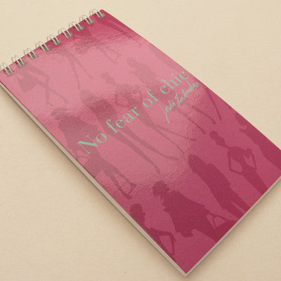 Jordi Labanda Mini Spiral Notebooks - Bond Girl pink