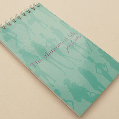 Jordi Labanda Mini Spiral Notebooks - Bond Girl Turquoise