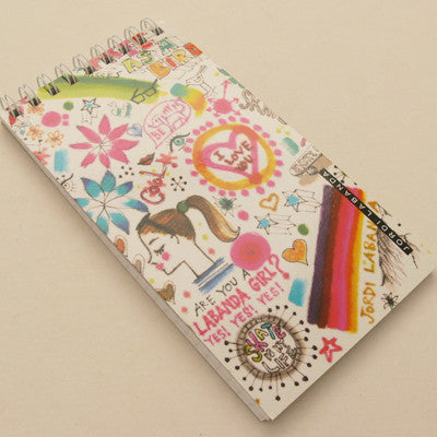 Jordi Labanda Mini Spiral Notebooks - Graffiti