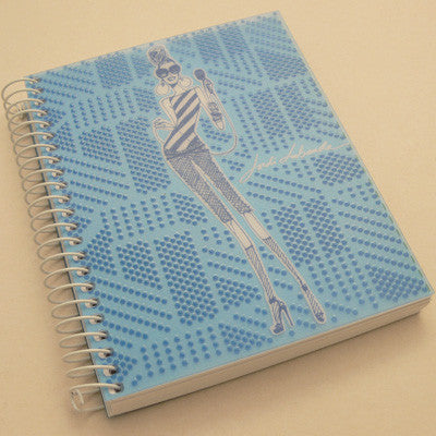 Jordi Labanda A4 Colours Notebook -Blue