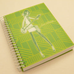 Jordi Labanda A4 Colours Notebook - Lime Green