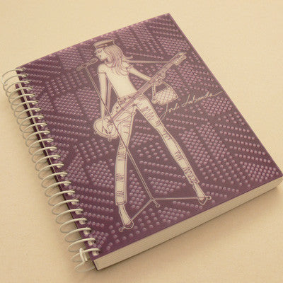 Jordi Labanda A4 Colours Notebook - Purple