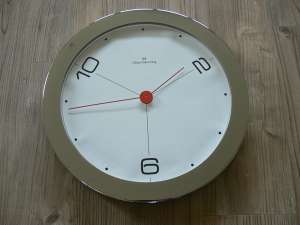 Oliver Hemming Round Wall Clock