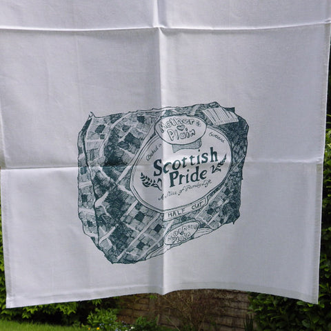 Scottish Pride tea towel by Gillian Kyle