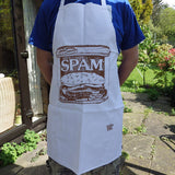 Spam apron by Gillian Kyle