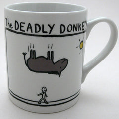 Edward Monkton Mug - The Deadly Donkey