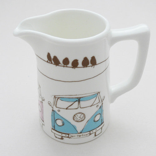 Jam Tart bone china milk jug