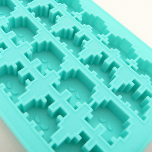 Novelty Space Invaders Ice Tray