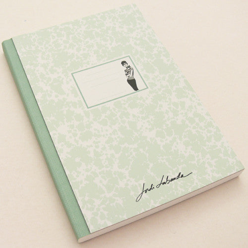 Jordi Labanda A6 green sketchbook