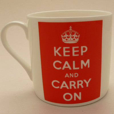 Keep Calm and Carry On XL Mug