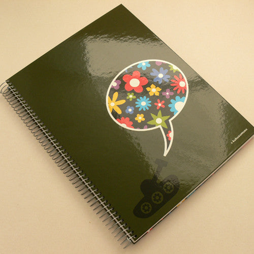 Kukuxumusu A4 notebook