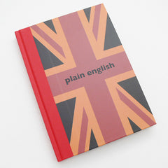 Big Tomato Company Plain English A5 notebook.