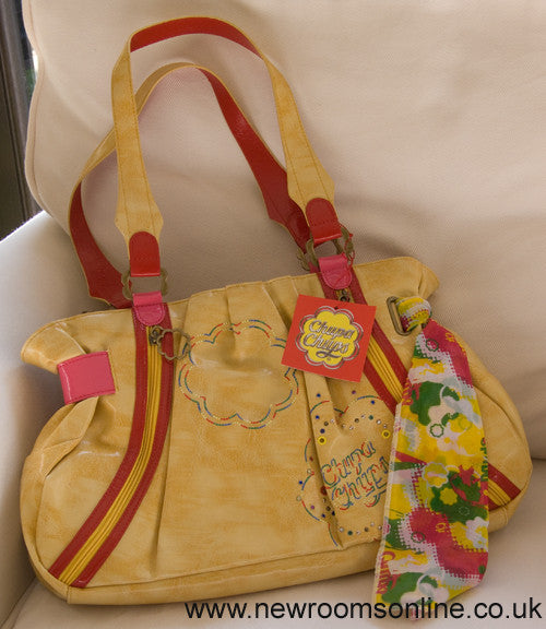 Chupa Chups Large Shoulder Bag - Dark Yellow