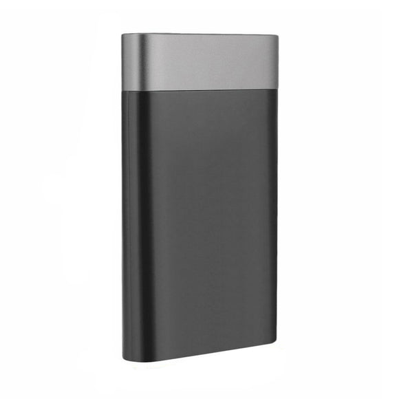 Dual USB Powerbank 10000mAh - Black