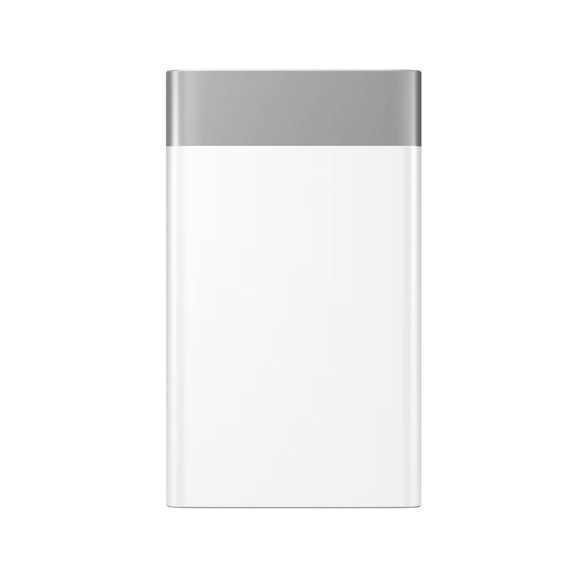 Dual USB Powerbank 10000mAh - White